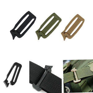 Clip Webbing Link-Buckle-Molle-Backpack-Strap Travel-Kit Connect Military Attach Outdoor