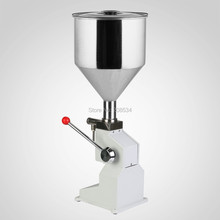 A03 Food Grade Stainless Steel Hopper Manual Cream Filling Machine bottle filling machine manual paste filling machine 0-50ML jiqi octopus balls filler takoyaki stainless steel filling funnel manual waffle batter separator chocolate cream baked hopper