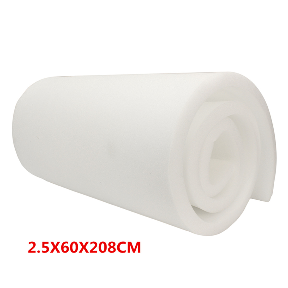 208X60X2.5cm High Density Seat Foam Rubber Replacement Upholstery Cushion Pad 1X24X82208X60X2.5cm High Density Seat Foam Rubber Replacement Upholstery Cushion Pad 1X24X82