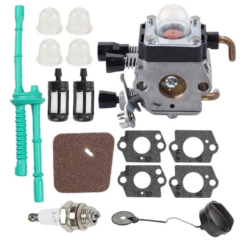 C1Q S97 Carburetor With Air Filter Fuel Line Kit For STIHL