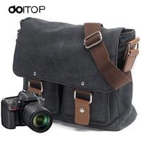 DOITOP Portable Case DSLR Photo Backpack National Photographic Camera Bag Photo Camera Travel Bag Shoulder Bag for Outdoor