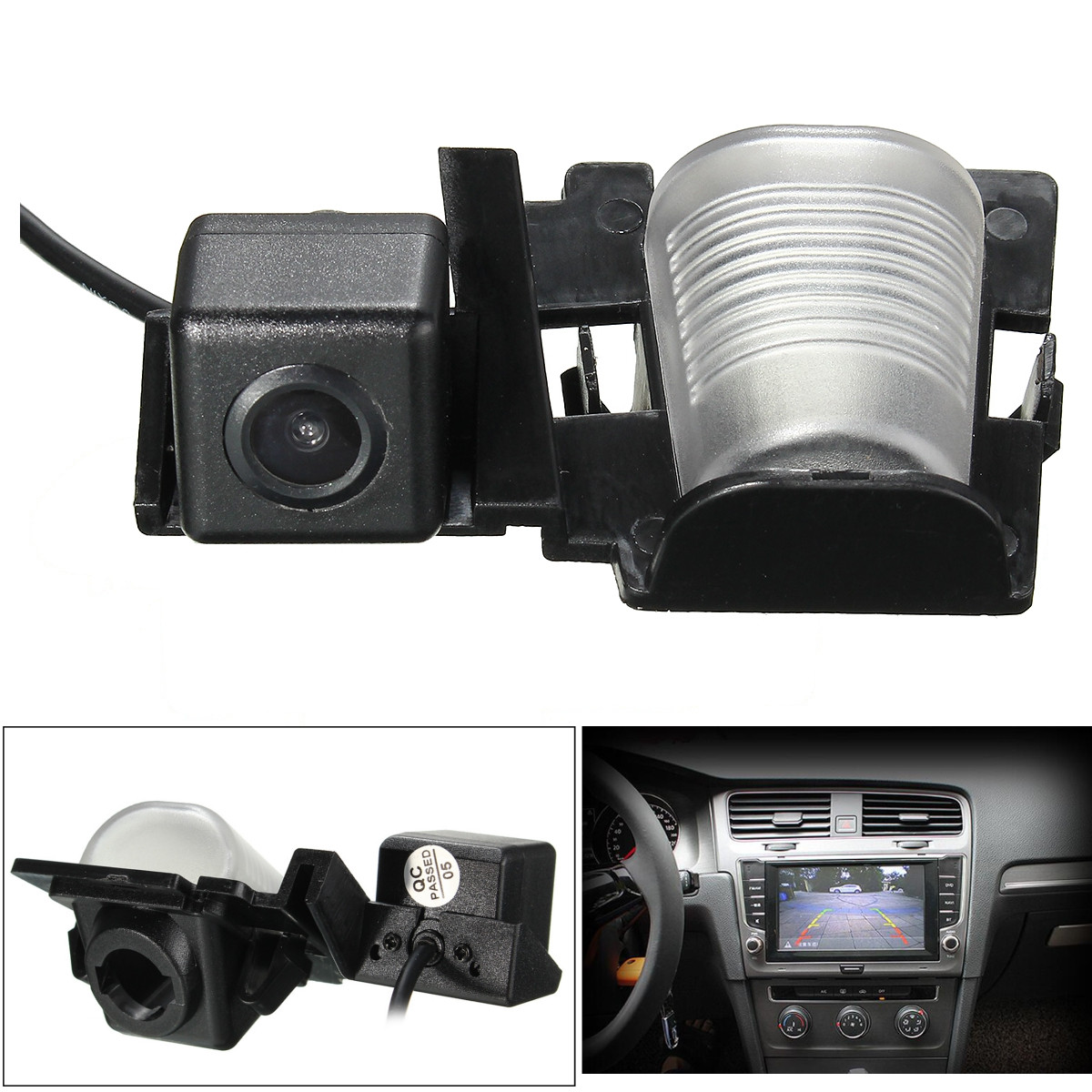 Car Rear View Camera Reverse Parking Backup Camera 120 Degree Angle CCD HD Waterproof For JEEP/Wrangler 2012 2013