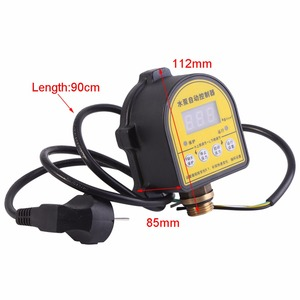 Image 3 - Digital Automatic Air Pump Water Oil Compressor Pressure Switch Controller for Water Pump 220V 10A Functional 0 10 Bar