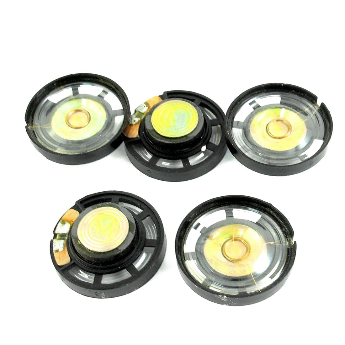 5 Pieces 8 Ohm 0.25 W 29 Mm Magnetic Closure Speaker For Electric Toy Possessing Chinese Flavors Portable Speakers
