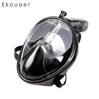 normally Easybreath Full Anti leak Tube Let Diving Snorkel Top breathe Face Swiming Mask Breathing with Dry your Diving