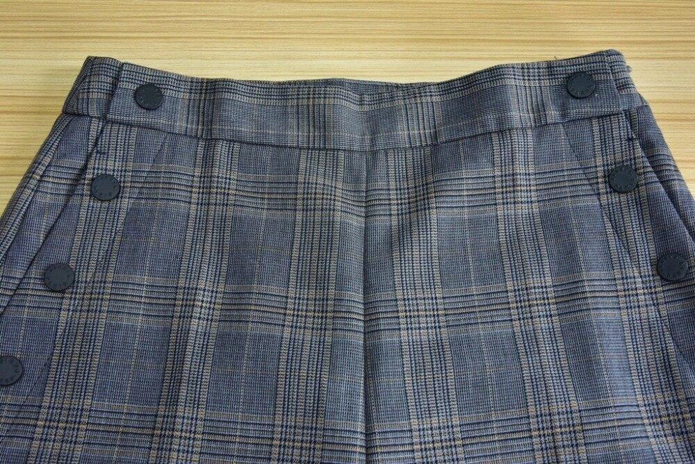 Mujeres Tobillo Otoño Nueva De Longitud Inglaterra Estilo La Pantalones Del Las Clásico Pies Los Ocio 66xr04a