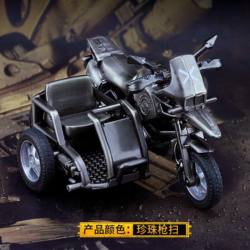 6e8bd1826 Juego PUBG de tres ruedas de la motocicleta Cosplay disfraces accesorios  Playerunknown campos de ...
