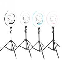 Makeup LED Flesh Selfie Ring Photography Lighting Video Live Diffuser Light with Tripod Makeup Lights