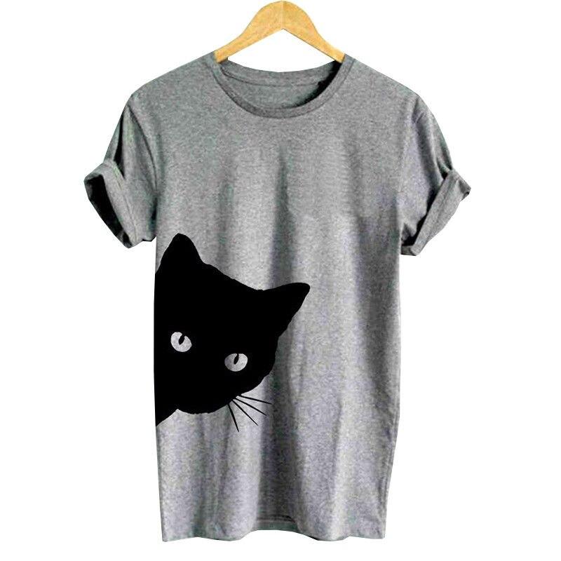 3c656af5e5 Femmes T Blouses Mignon Brève Travail Shirt shirts Courtes À De blanc  Imprimer Bureau D'été ...