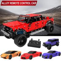 DIY Simulation Car Toys Alloy Remote Control Car Detachable Assembled Remote Cars Toy For Children Birthday Gifts
