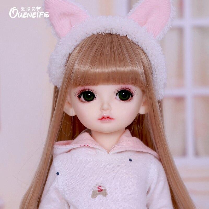 OUENEIFS Rita 1/6 BJD SD lalki Fullset Model dla dzieci dziewczyny chłopcy oczu wysokiej jakości zabawki figurki z żywicy w Lalki od Zabawki i hobby na  Grupa 1