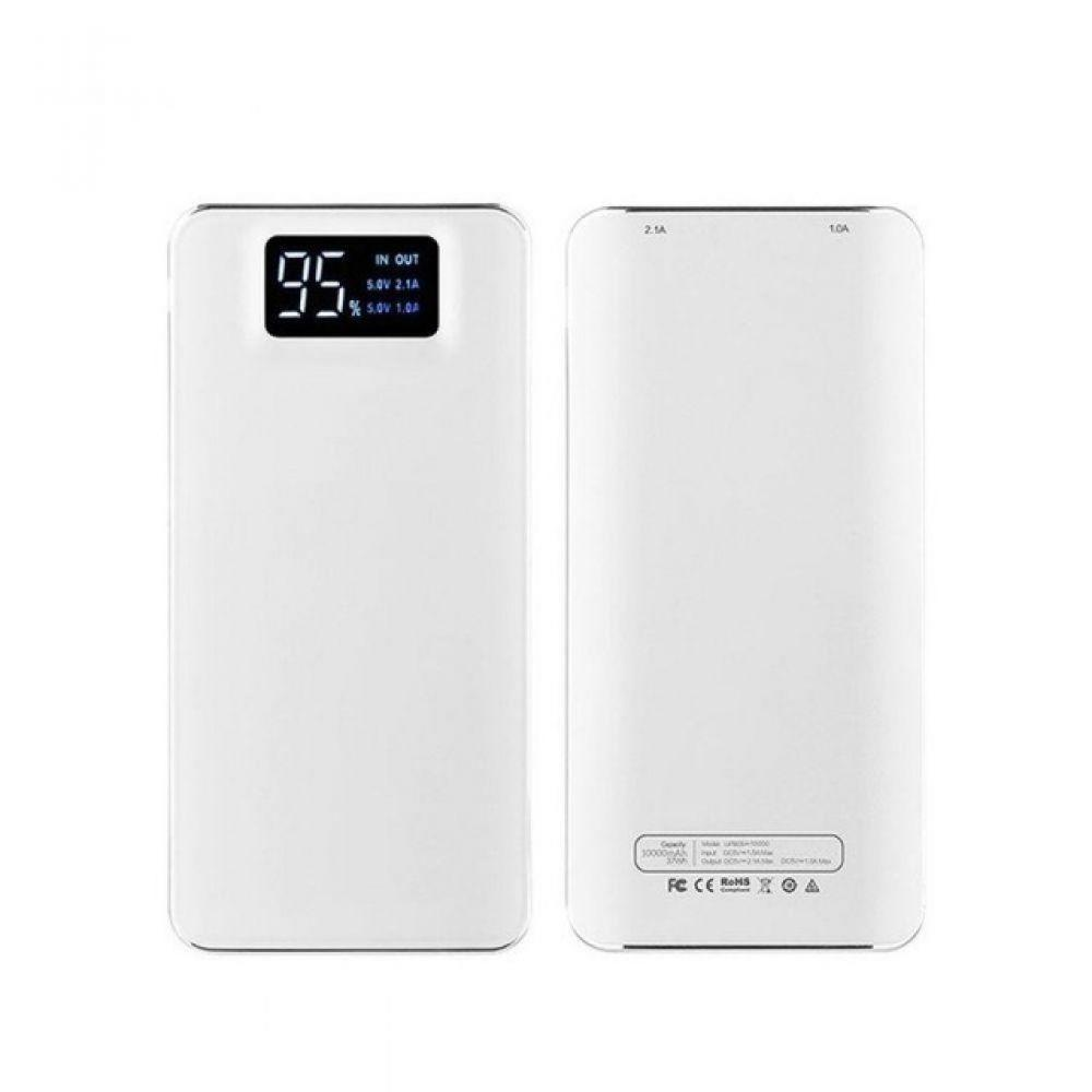 30000 mah Power Bank Doppel USB Externe Batterie LCD Tragbare Handy Ladegerät Power für Xiaomi iPhone X Samsung