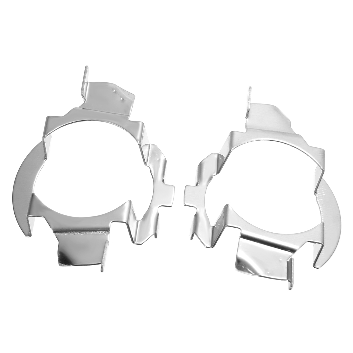 2pcs <font><b>H7</b></font> <font><b>LED</b></font> <font><b>Headlight</b></font> Bulb Holder Adapter For Vauxhall For <font><b>BMW</b></font> <font><b>E60</b></font> E61 X5 For Audi A3 A4 For Benz C-class A-class NO Bulbs image