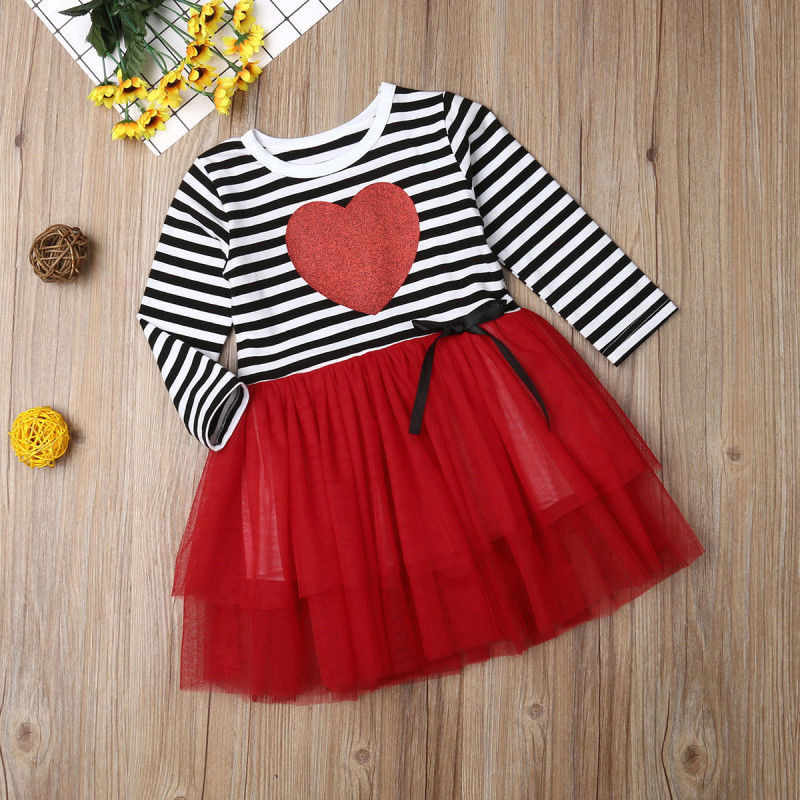 473614b7e92b ... 2019 New Valentines Day Baby Girl Dress Princess Girls Tutu Dress  Toddler Kids Clothes Baby Pageant ...