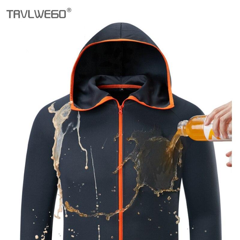 TRVLWEGO Fishing Clothing Hooded Ice Silk Man Jacket Quick Drying Coat Fishing Shirt For Men Breathable