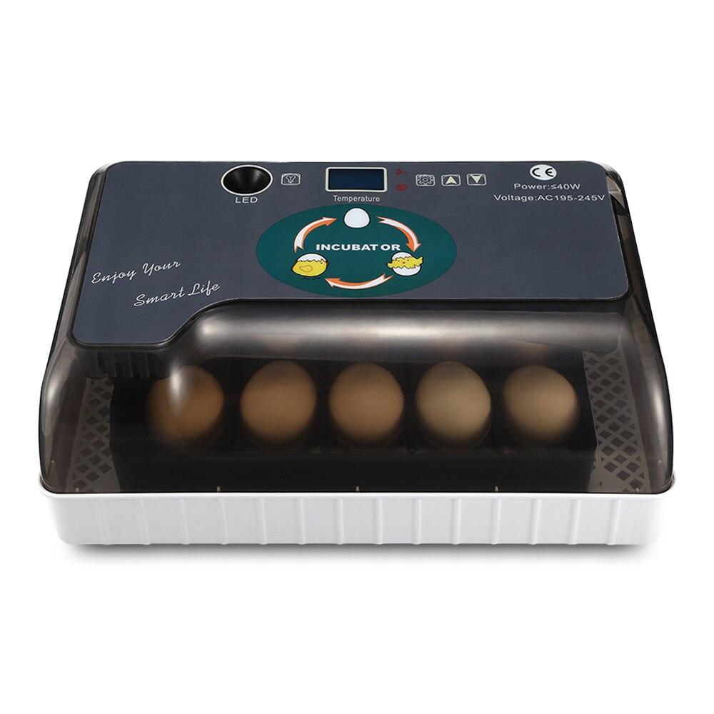 Ménage Automatique À Couver Incubateur Numérique Contrôle de La Température Avec LED Léger PLUG UE Grande Capacité Cuisine Outils