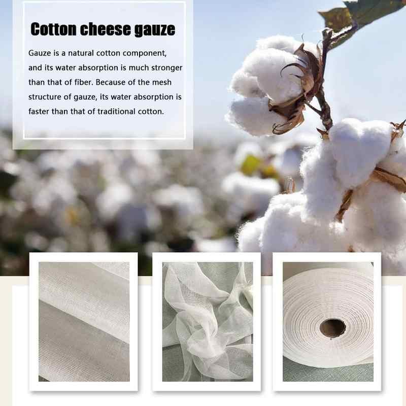 Сырная ткань 40 s Натуральный ультра тонкий хлопковый фильтр Марля Сырная ткань кухонный фильтр для очистки автомобиля пылезащитный парфюмерный мешок для производства вина