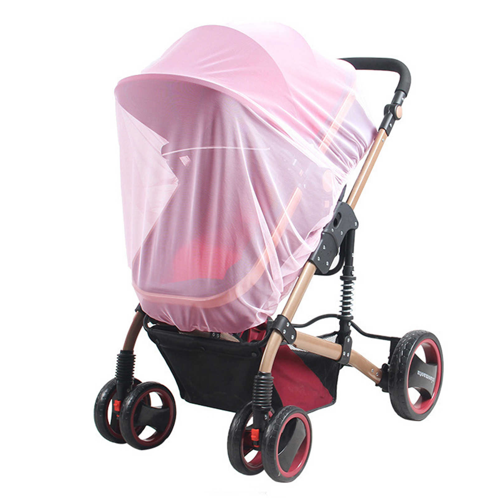 2019 New Baby Stroller Pushchair Mosquito Insect Shield Net Safe Infants Protection Mesh Stroller Accessories Cart Mosquito Net