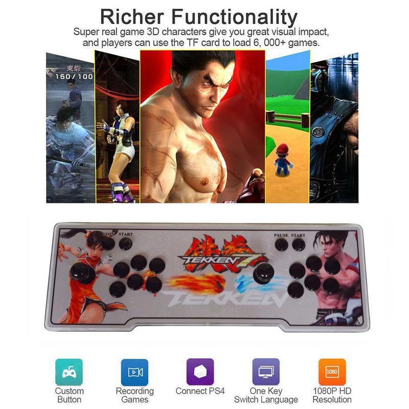 Pandora's Box 3D 2177 в 1 1080 P Аркада для игры JAMMA HDMI Ретро консоль