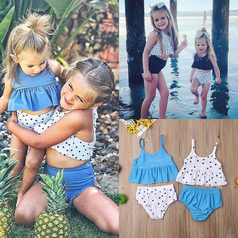 CLEARANCE SALE cute swimsuit baby toddler,girl polkadots bikini summer swimsuit