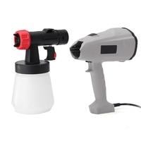 Best Promotion Electric Spray Guns DIY Home Paint Spray Guns 220V 400W 700ml Automatic Spray Tool EU Plug For DIY Home Decor