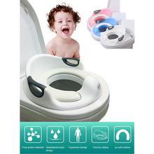 Kidlove/Детское сиденье для унитаза для мальчиков и девочек с подушкой, ручка спинки, сиденье для унитаза