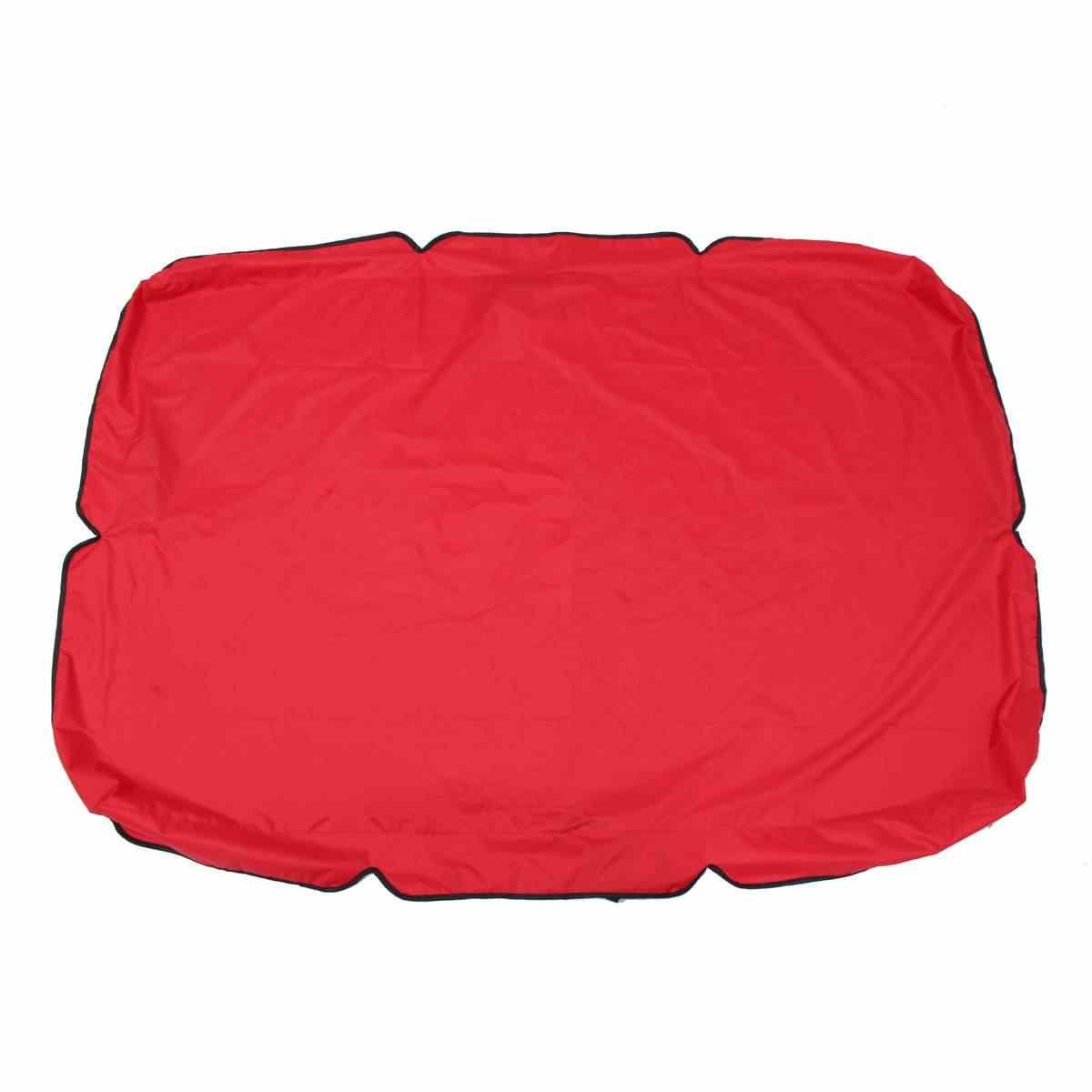 """66 """"X45"""" X5.9 """"bahçe salıncağı tente gölgelik açık Gazebo avlu salıncak sandalye hamak çadır su geçirmez yaz güneş gölge yelken"""