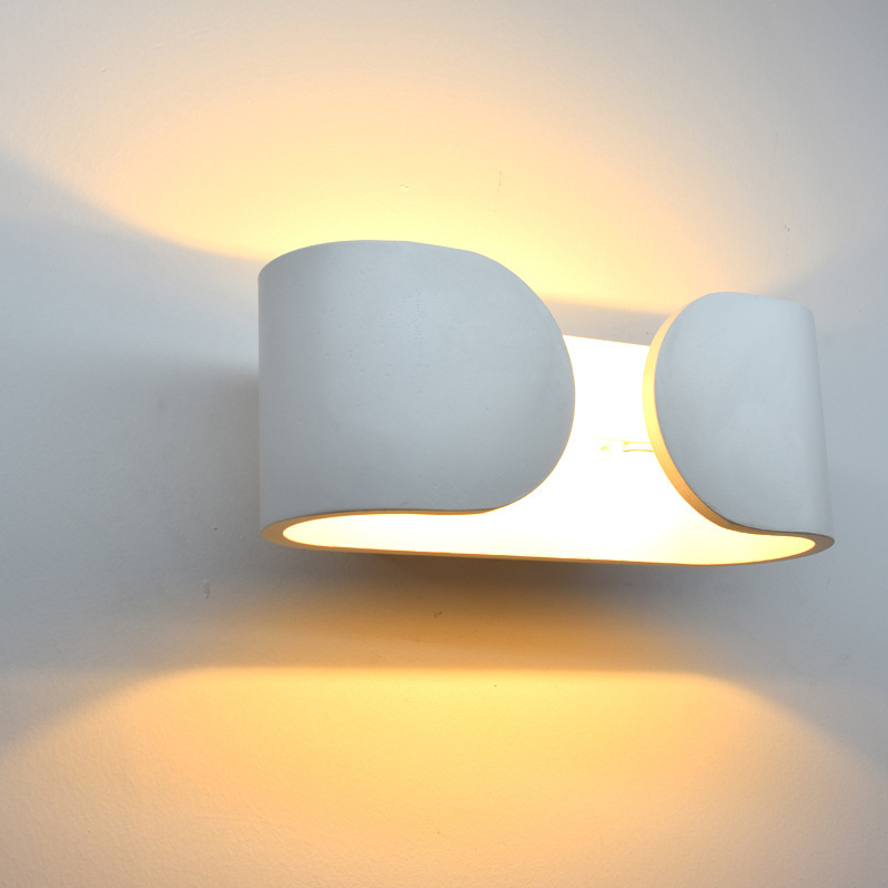 DE.SOUL Originality LED Wall Lamp Concise Modern Indoor A Living Room Bedroom Aisle Bedside Wall Lamp