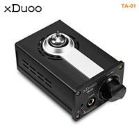 XDUOO TA 01 Hifi 24bit/192KHz USB DAC + Tube Headphone Amplifier Amplifier Class A Buffer Amplifier Tube Power Original