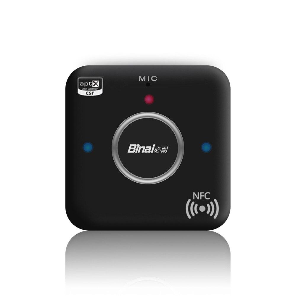 Tragbares Audio & Video Binai G7plus Bluetooth Empfänger V4.2 Hifi Audio Nfc Sender Apt-x 3,5mm Handfree Wireless Adapter Farben Sind AuffäLlig