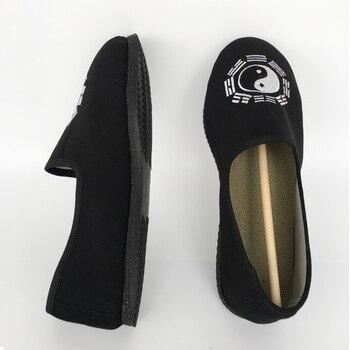 6f97da6d2e8 Suela de goma de algodón transpirable taoísta zapatos de tradición china  calzado Tai Chi zapatos Kung Fu Wushu zapatos