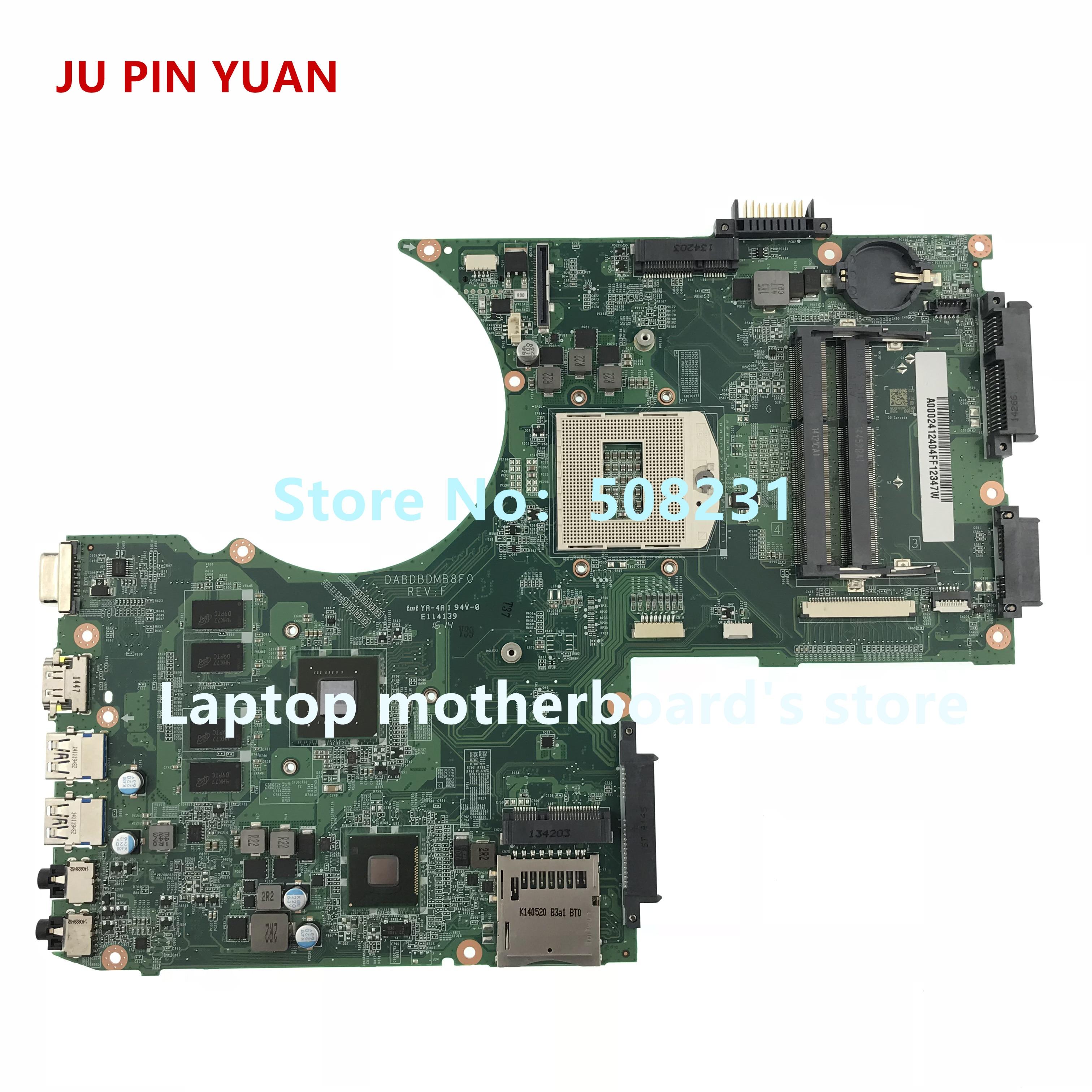 Computer & Büro Ju Pin Yuan Für Toshiba Satellite P70 P75 P70-a P75-a Laptop Motherboard Dabdbdmb8f0 Mit Gt740m 2 Gb Sockel Pga 947 Laptop Motherboard