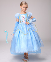 Disney Ice Romance Princess Dress Aisha Dress Ankle Length Cute Sweet Princess Dress