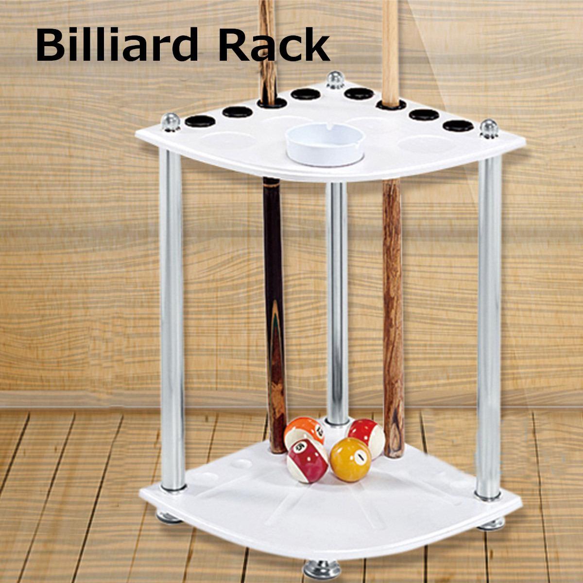 8 trous en bois coin queue Rack piscine Snooker Stand Table boules boisson reste bâton titulaire organisateur Snooker billard accessoires