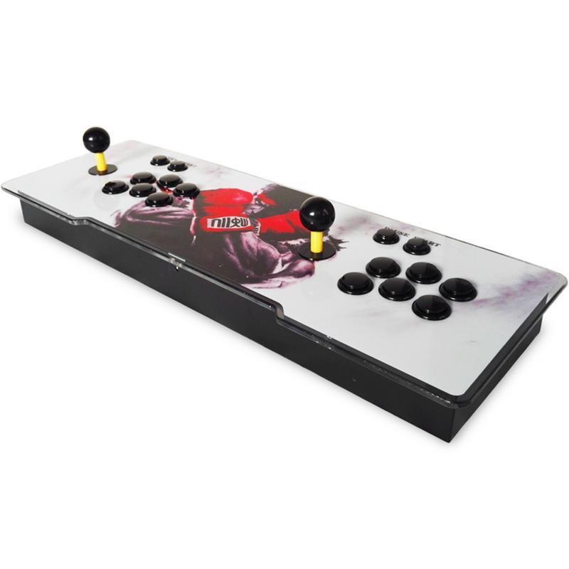 1388 en 1 boîte de pandore 6 s rétro jeux vidéo Double bâton Arcade Console lumière