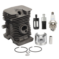 New 38mm Cylinder Piston Kits With Spark Plug Fuel Filter Fit Chainsaw 018 MS180 MS 180 chainsaw spares motosierra