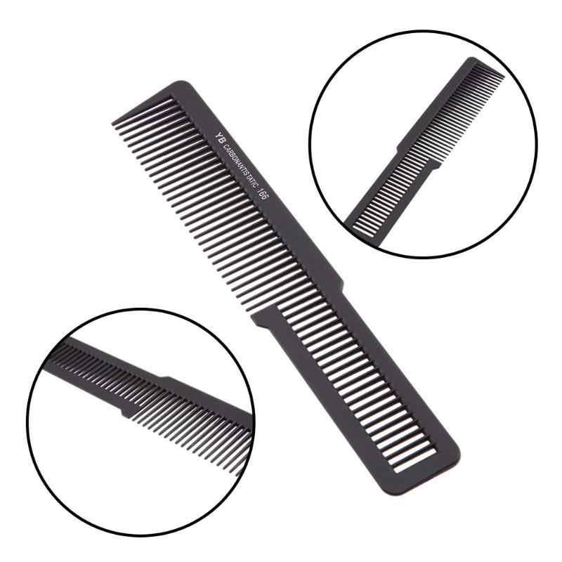 1 шт. маленький размер Антистатическая расческа для волос Professional Hair Salon парикмахерские расчески Haircutt волосы умирающие инструменты