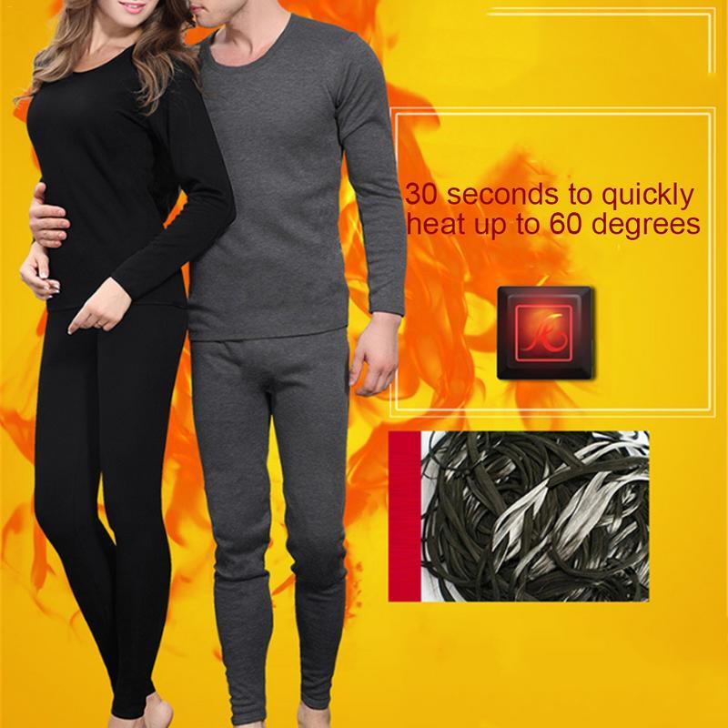 Nouveau ensemble de sous-vêtements de Ski chaud d'hiver pour femmes veste chaude à manches longues doublure en Fiber de carbone