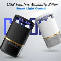 Indoor Electronic Mosquito Killer Fly Bug Zapper Trap LED Light USB Insect Catcher Home Garden Pest Control Accessories 3W