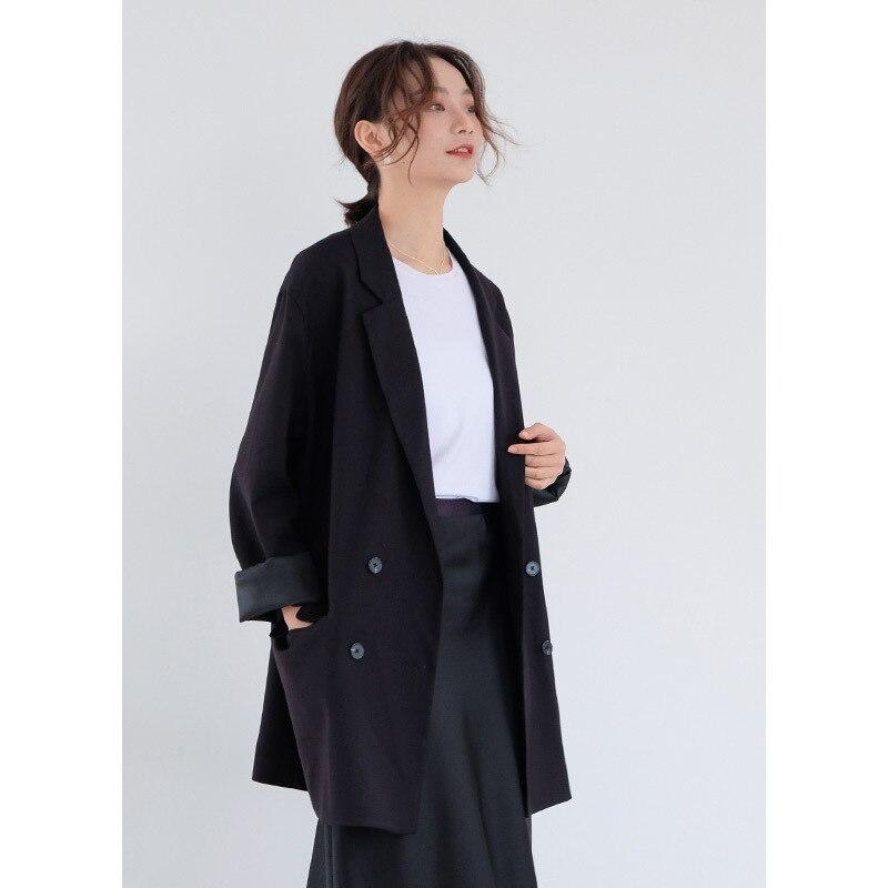 noir Printemps Femme Vent Mode Coréenne De Rue 2019 vert Décontracté Costume Sauvage Manteau Nouveau Femmes Petit Veston Beige qqfwAxpR