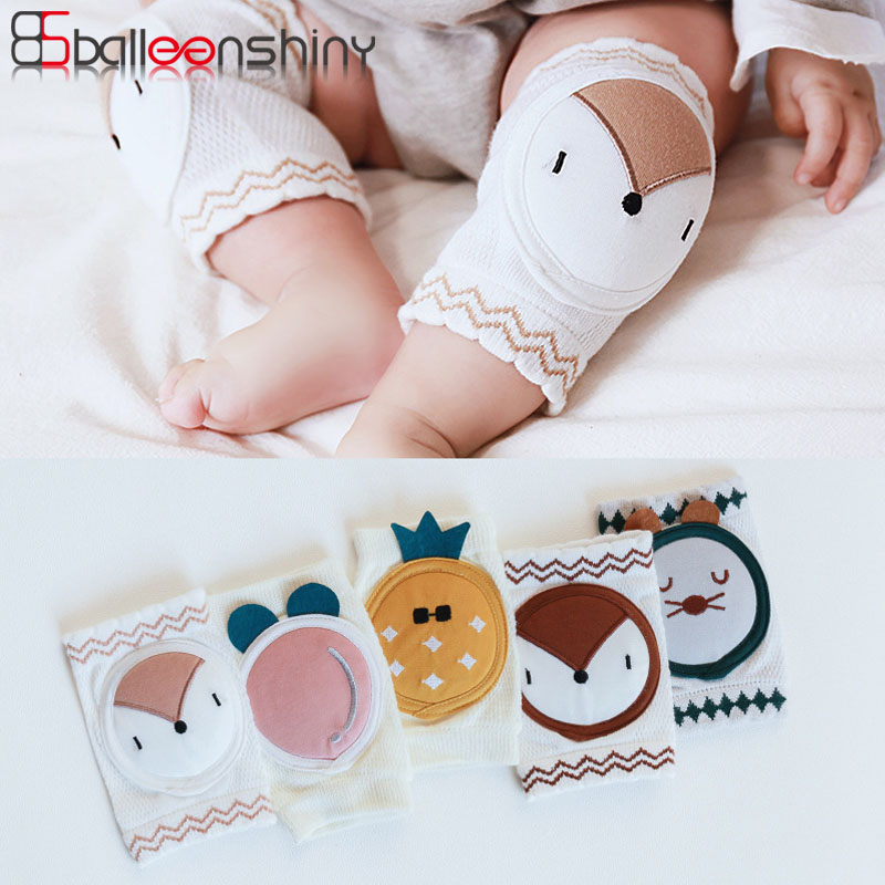 BalleenShiny Baby Knee Pads Infant Toddler Kneepads Protector  Baby Leg Warmers Mesh Breathable Beenwarmers Calentadores Pierna