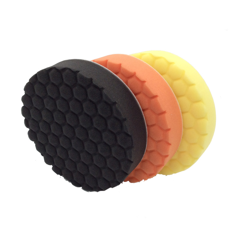 MARFLO Polishing Sponge Pad Car Cleaning Brushes Auto Detailing Tools Paint Rust Removal for Dual Action