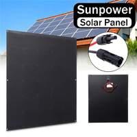 100 Вт солнечная панель SunPower солнечная панель s В 20 в В 18 в 5.6A легкий военный уровень алюминиевая пластина фотоэлектрическая панель для автомо