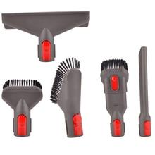 5-Pcs прикрепление комплект для кисточек инструмент для Dyson V7 V8 V10 для пылесос Dyson приспособление для матраса щелевая насадка Dyson Запчасти
