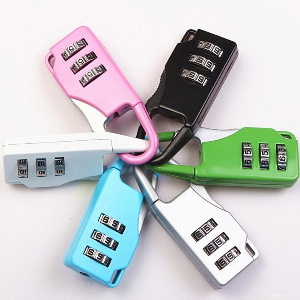 Sfg Haus Mini Zifferblatt Digit Anzahl Code Passwort Kombination Gepäck Mini Padlocksecurity Reise Safe Lock Gepäck Lock Mutter & Kinder