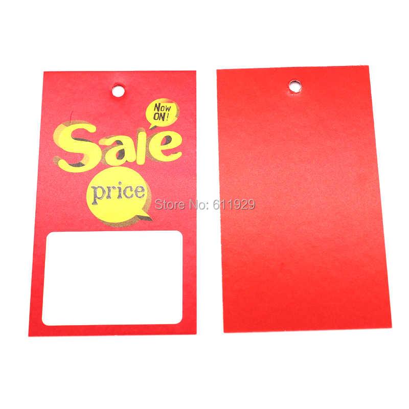 7d6ea60e276 ... Бесплатная доставка Распродажа ценник пустая подвесная тег бирка для одежды  тег персонализированная одежда