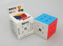 Moyu Aolong V2 3x3 küp Siyah/beyaz/Stickerless parlak/Şeffaf/Şeker/Birincil sihirli küp bulmaca Drop Shipping