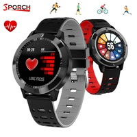 Sporch CF58 IP67 Watch Smart Watches 1.3 inch IPS HD Screen Heart Rate Sleep Monitor Bluetooth Sport Smartwatch For iOS Android