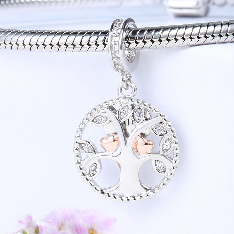 Authentic S925 Silver Diy Jewelry Symbol Of Peace Charm Bead Fit Pandora Bracelet Girl Lady Birthday Gift To Enjoy High Reputation In The International Market Jewelry & Accessories