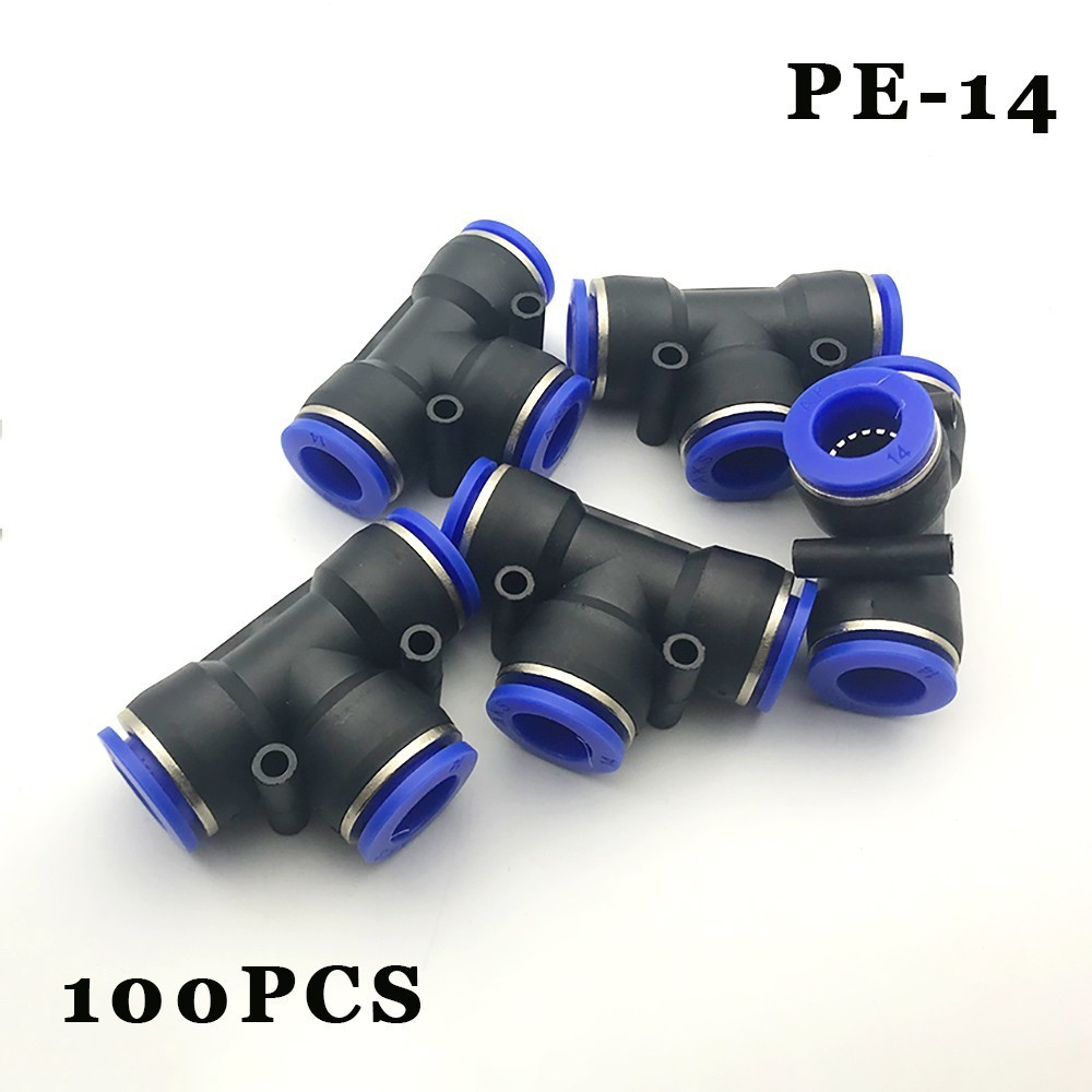 Livraison gratuite 100 pcs/lot connecteur pneumatique-raccord rapide rapide mamelon rapide prise tee-14 PE mamelon pneumatique en plastique.Livraison gratuite 100 pcs/lot connecteur pneumatique-raccord rapide rapide mamelon rapide prise tee-14 PE mamelon pneumatique en plastique.
